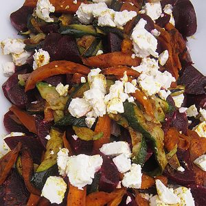 Beetroot and feta salad at Third Place Cafe