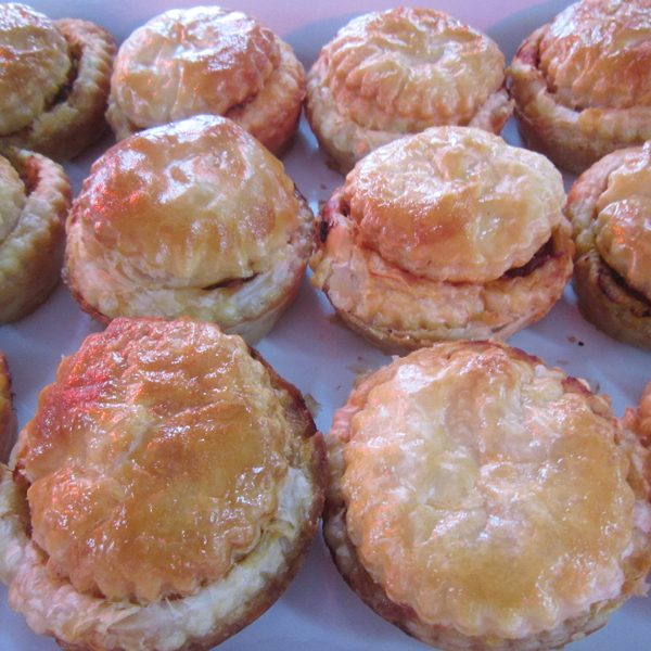 Mini pies at Third Place Cafe