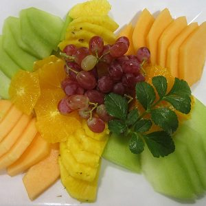 Small fruit platter at Third Place Cafe